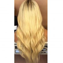 Golden Blonde Long Wave Wig