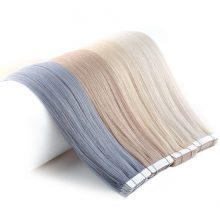 Neitsi Remy Tape In Human Hair Extensions Double Drawn Adhesive Straight Hair Skin Weft 16